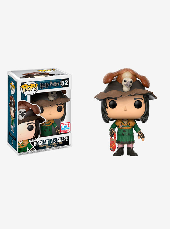 POP HARRY POTTER BOGGART AS SNAPE VINYL FIGURE FUNKO FALL 2017 CONVENTION EXCLUSIVE #52 PRE ORDER FEBRUARY 2018