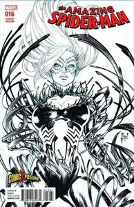 AMAZING SPIDER-MAN VOL.4 #16 GUILLEM MARCH COMICXPOSURE SKETCH VARIANT