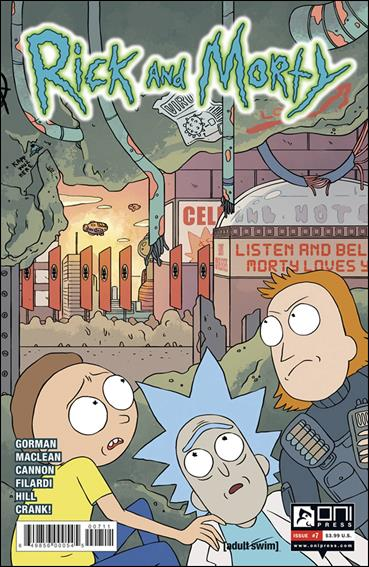 RICK AND MORTY #7 FIRST PRINT