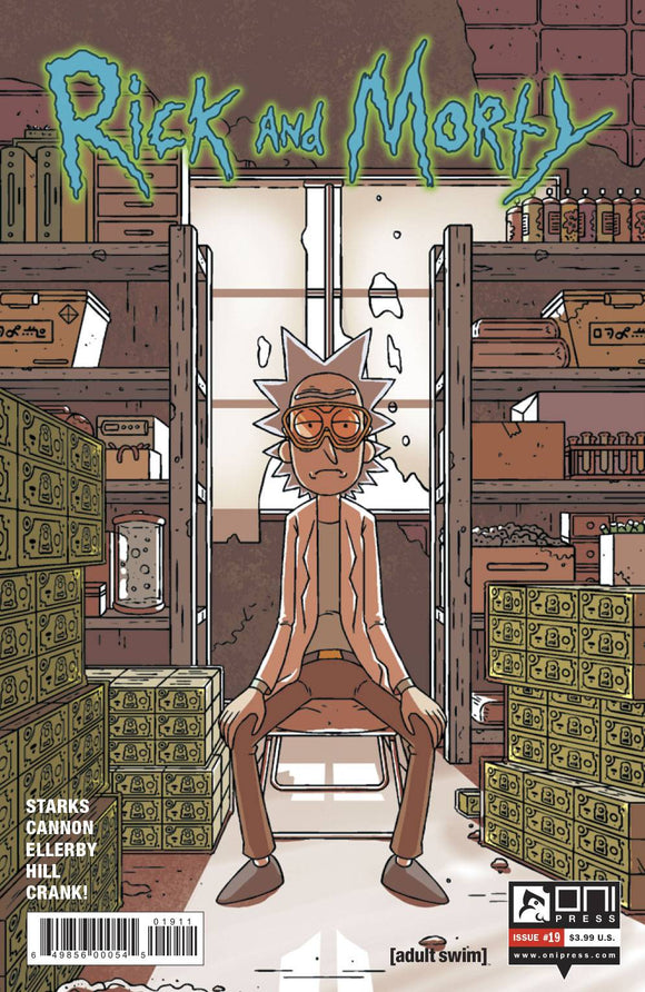 RICK AND MORTY #19 FIRST PRINT
