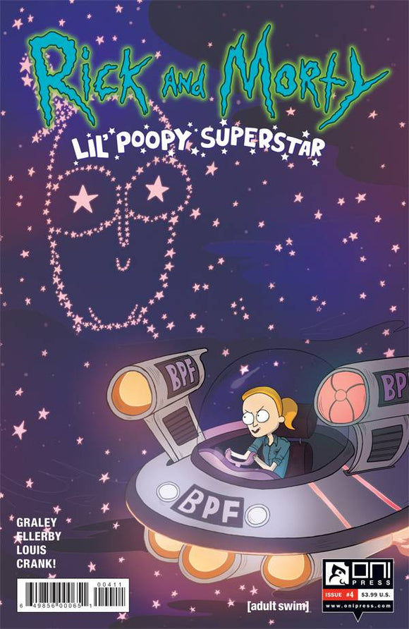 RICK AND MORTY LIL POOPY SUPERSTAR #4 OF 5 FIRST PRINT