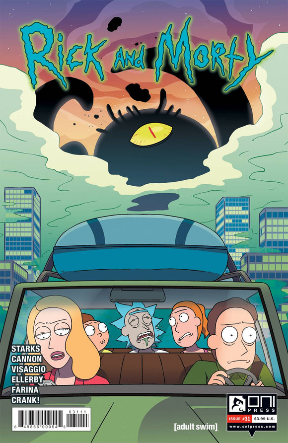 RICK AND MORTY #31 FIRST PRINT