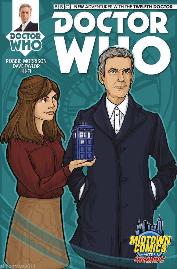 DOCTOR WHO 12TH DOCTOR #1 MIDTOWN COMICS VARIANT