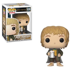 POP THE LORD OF THE RINGS MERRY BRANDYBUCK VINYL FIGURE #528