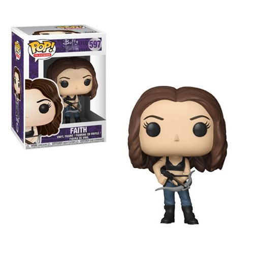 POP BUFFY THE VAMPIRE SLAYER ANNIVERSARY FAITH VINYL FIGURE #597