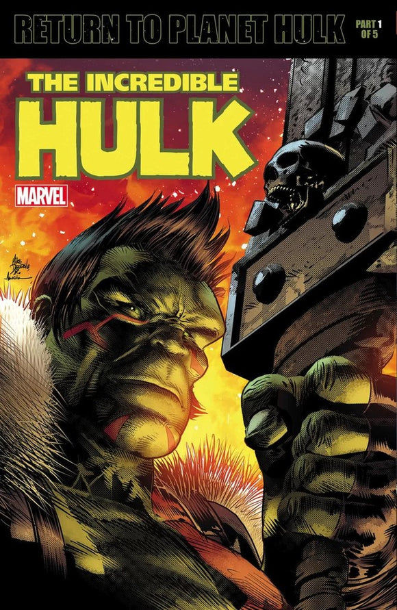 THE INCREDIBLE HULK #709 LENTICULAR VARIANT