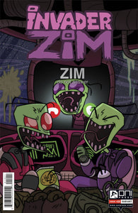 INVADER ZIM #19 GREEN VARIANT