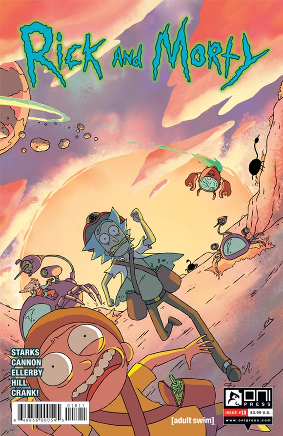 RICK AND MORTY #18 FIRST PRINT