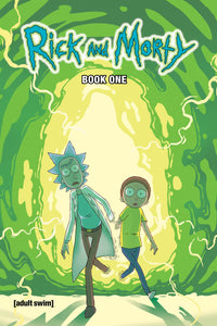 RICK AND MORTY HARDCOVER BOOK ONE WITH SOUND CHIP