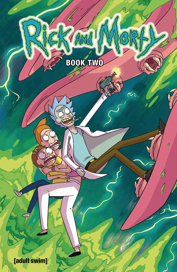 RICK AND MORTY HARDCOVER BOOK TWO WITH SOUND CHIP