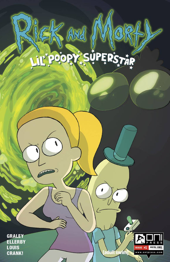 RICK AND MORTY LIL POOPY SUPERSTAR #1 OF 5