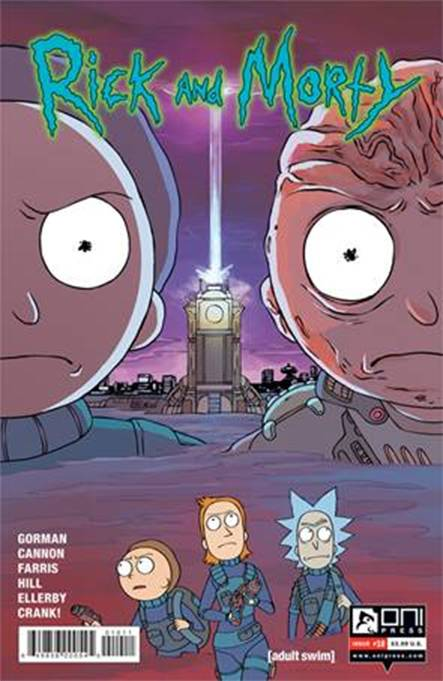 RICK AND MORTY #10 FIRST PRINT