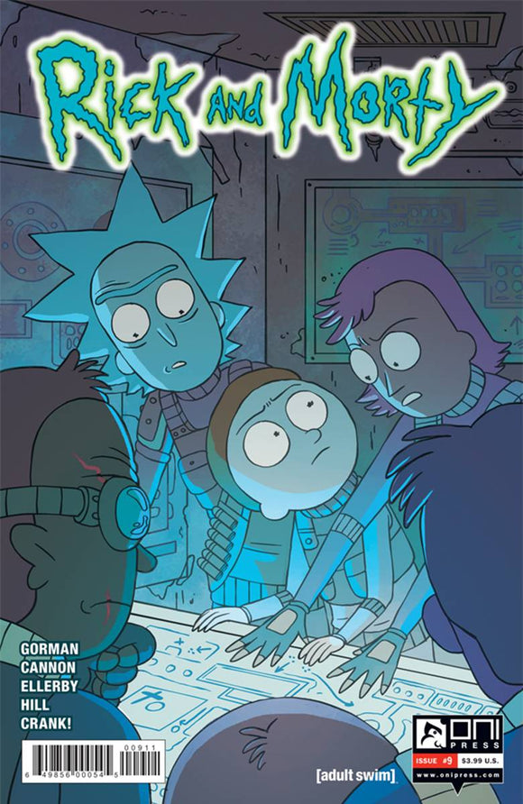 RICK AND MORTY #9 FIRST PRINT