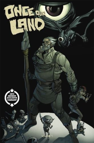 ONCE OUR LAND #1 COMIC BOOKS FOR SALE UK VARIANT
