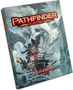 PATHFINDER 2ND EDITION PLAYTEST CORE RULE BOOK (SPECIAL EDITION) PRE ORDER EARLY AUGUST