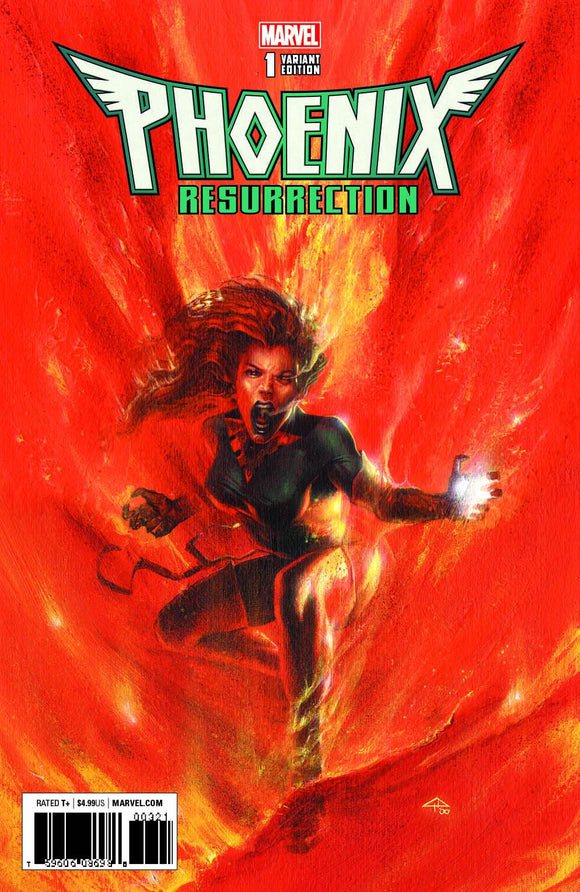 PHOENIX RESURRECTION RETURN OF JEAN GREY #1 KRS VARIANT MARVEL