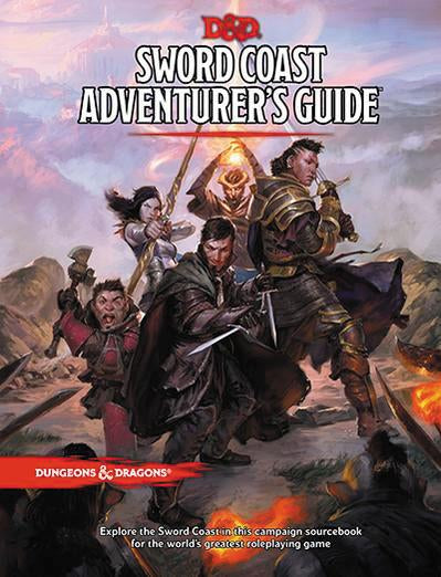 DUNGEONS AND DRAGONS SWORD COAST ADVENTURER'S GUIDE