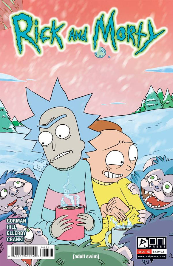 RICK AND MORTY #8 FIRST PRINT
