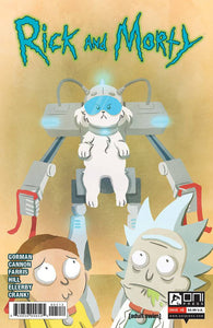 RICK AND MORTY #5 SECOND PRINT