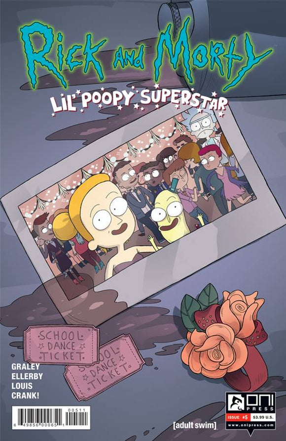 RICK AND MORTY LIL POOPY SUPERSTAR #5 OF 5 FIRST PRINT