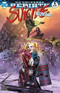 SUICIDE SQUAD VOL.4 #1 ANACLETO HEROIC DREAMS COLOUR VARIANT