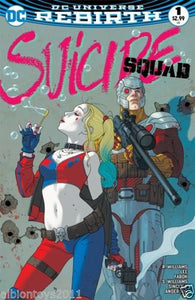 SUICIDE SQUAD VOL.4 #1 JOSH MIDDLETON LIMITED EDITION COMIX VARIANT
