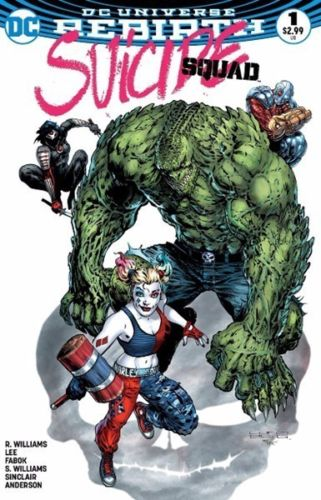 SUICIDE SQUAD VOL.4 #1 LIAM SHARP MEGA GAMING COLOUR VARIANT