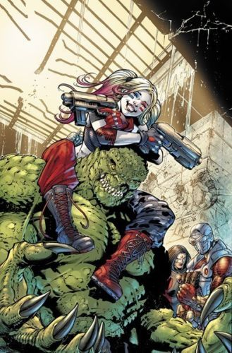 SUICIDE SQUAD VOL.4 #1 PAUL PELLETIER ROCK SHOP VARIANT