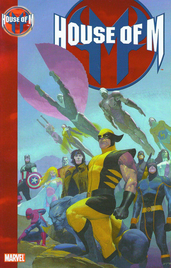HOUSE OF M COMPLETE VOLUME PAPERBACK