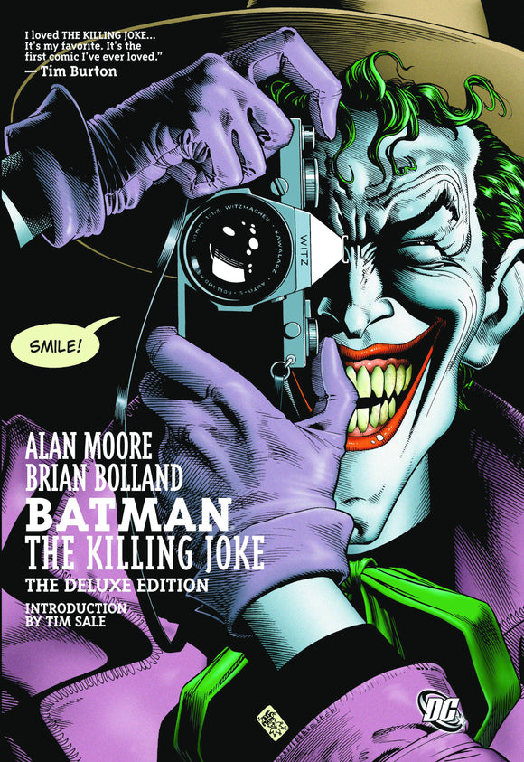 BATMAN THE KILLING JOKE DELUXE EDITION COMPLETE VOLUME HARDCOVER
