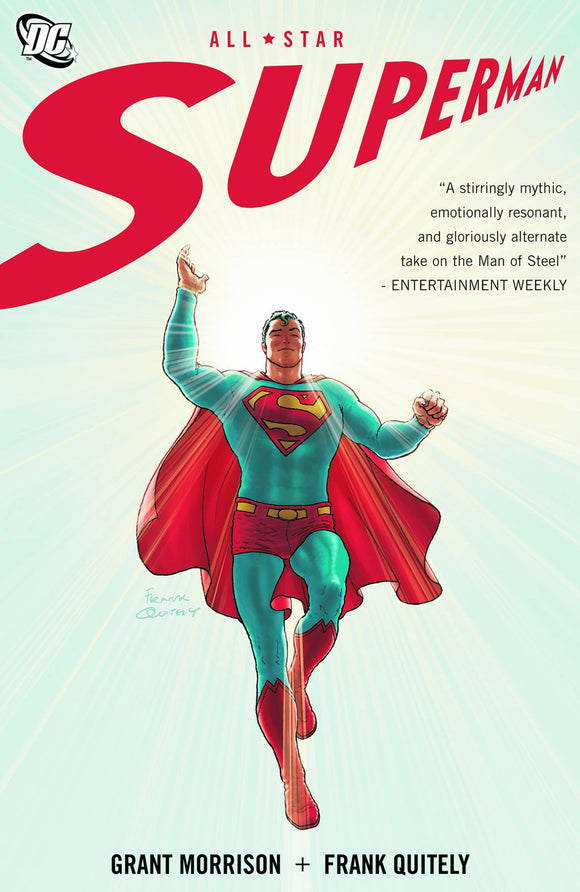 ALL STAR SUPERMAN COMPLETE VOLUME PAPERBACK