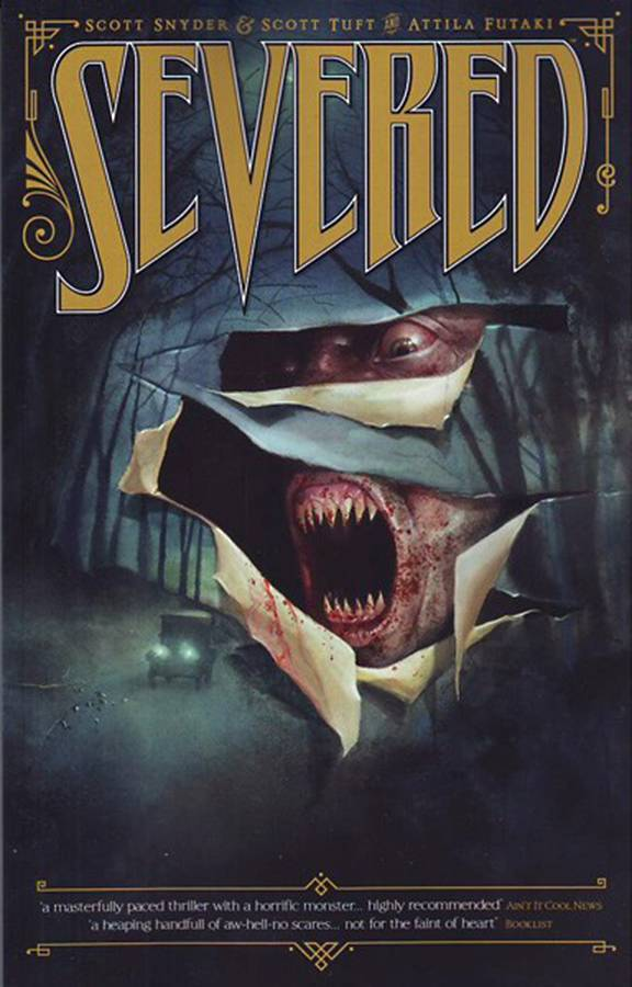 SEVERED COMPLETE VOLUME PAPERBACK