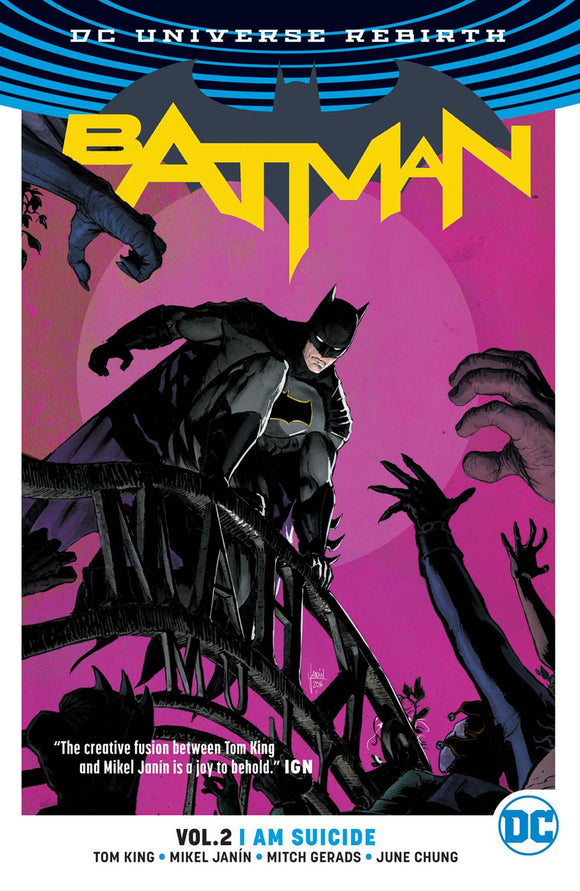 BATMAN VOLUME 2 I AM SUICIDE REBIRTH PAPERBACK