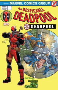 DESPICABLE DEADPOOL VOL.1 #287 LENTICULAR VARIANT