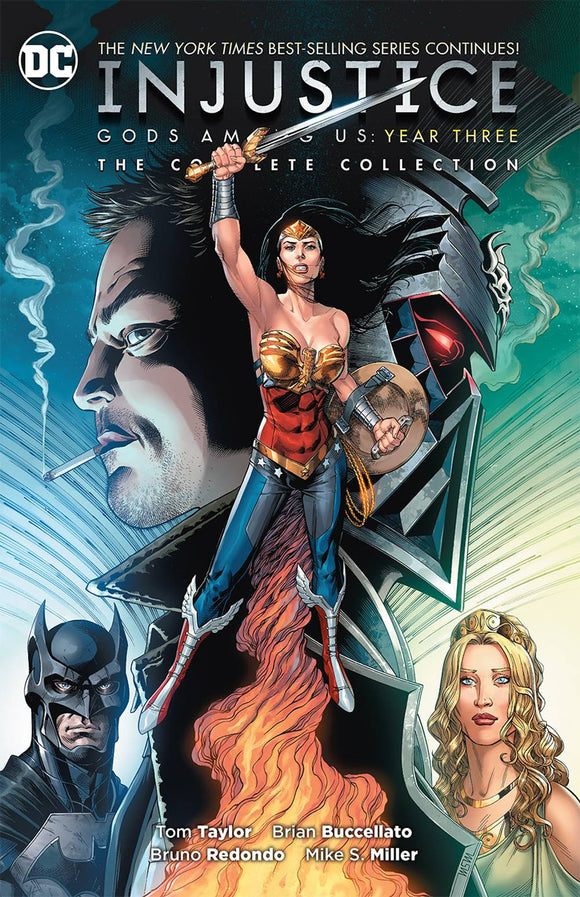 INJUSTICE GODS AMONG US YEAR THREE COMPLETE VOLUME PAPERBACK