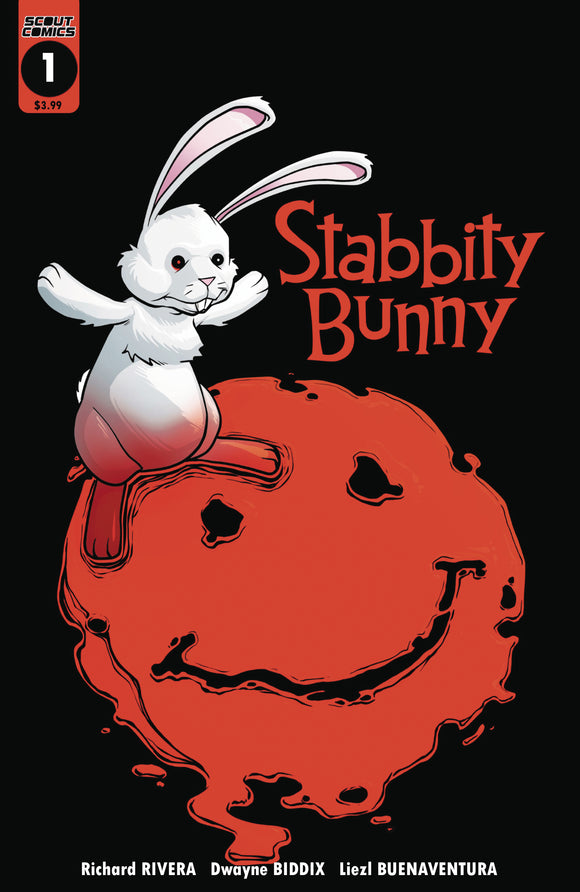 STABBITY BUNNY #1 1ST PRINTING PRE-ORDER 01/02/18