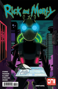 RICK AND MORTY #34 ONI PRESS 1ST PRINT PRE-ORDER 01/02/18