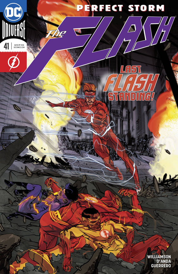 FLASH VOL.5 #41 DC COMICS 1ST PRINT PRE-ORDER 01/03/18