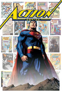 ACTION COMICS #1000 80 YEARS OF SUPERMAN HARD COVER PRE ORDER 19/04/18