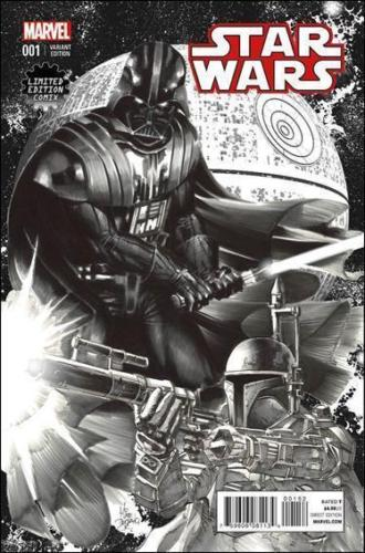 STAR WARS #1 DEODATO LIMITED EDITION COMIX SKETCH VARIANT