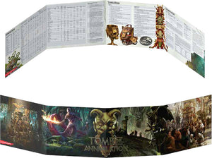 DUNGEONS AND DRAGONS TOMB OF ANNIHILATION DM SCREEN