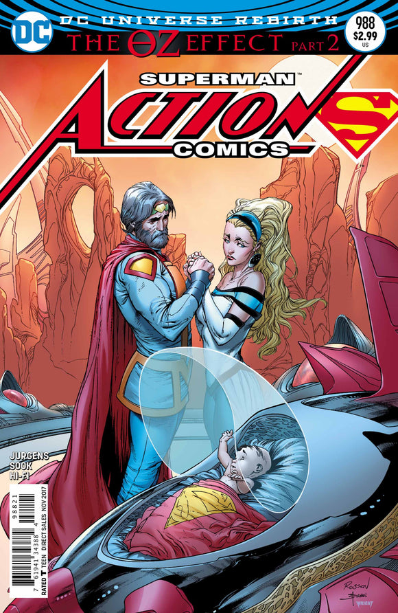 ACTION COMICS VOL.1 #988 LENTICULAR EDITION DC 1ST PRINT