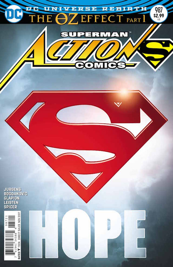 ACTION COMICS VOL.1 #987 LENTICULAR VARIANT