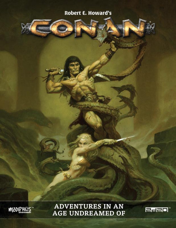 CONAN ADVENTURES IN AN AGE UNDREAMED OF