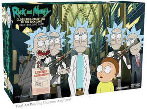 PRE ORDER! RICK AND MORTY CLOSE RICK-COUNTERS OF THE RICK KIND