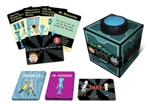 RICK AND MORTY MR MEESEEKS BOX O FUN GAME OF DICE AND DARES