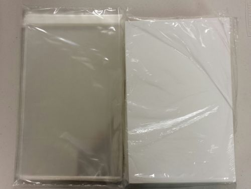 100 MODERN AGE SELF SEAL BAGS AND CALCIUM BUFFERED BOARDS MODERN AGE