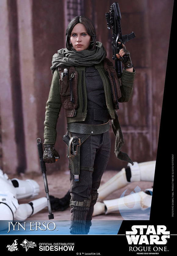 STAR WARS ROGUE ONE JYN ERSO SIXTH SCALE FIGURE BY HOT TOYS