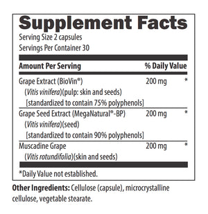 Grape Seed Supreme™ 60 Vegetarian Capsules