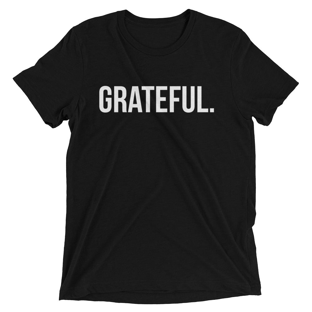 GRATEFUL. Short sleeve t-shirt